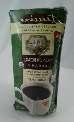 Teeccino Herbal Coffee, French Roast, Caffeine-Free, 25-Coun
