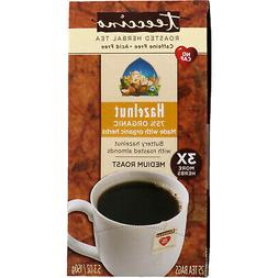 Teeccino Hazelnut Chicory Roasted Herbal Tea, Caffeine Free,