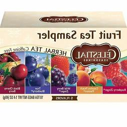 herbal tea fruit tea sampler 18 count