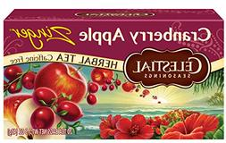 Celestial Seasonings Herbal Tea, Cranberry Apple Zinger, 20