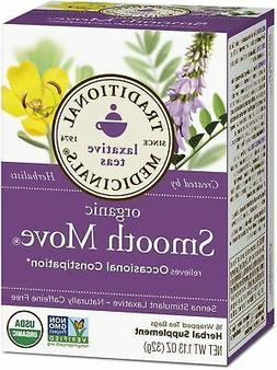 Traditional Medicinals Herbal Teas, Organic Smooth Move, 16
