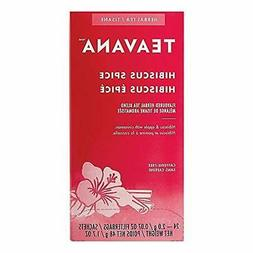 Teavana Hibiscus Spice Herbal Tea Bags 2 x 24 Count Boxes