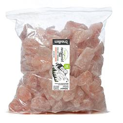 Milliard Himalayan Salt Rock Chunks - 10lb. Bag - Food Grad