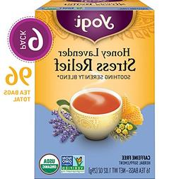 Yogi Tea - Honey Lavender Stress Relief - Soothing Serenity