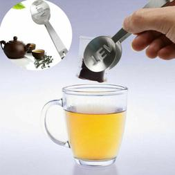 Home  Grip Squeezer Stainless Tongs Teabag Bag Kitchen Tea T