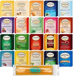 By The Cup Honey Stix and Tea Bag Gift Set - Twinings Herbal