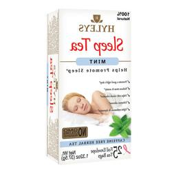 Hyleys Natural Sleep Aid Mint Tea- Stress & Anxiety Reduces