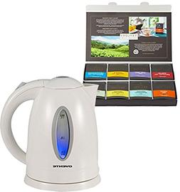 Bundle Includes 2 Items - Ovente 1.7 Liter BPA Free Cordless