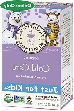 Traditional Medicinals Just for Kids Organic Cold Care Herba