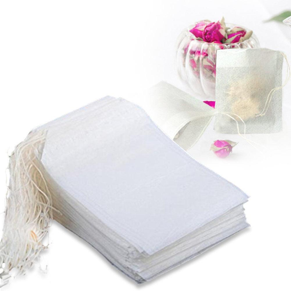 100 400 pcs disposable filter empty teabags