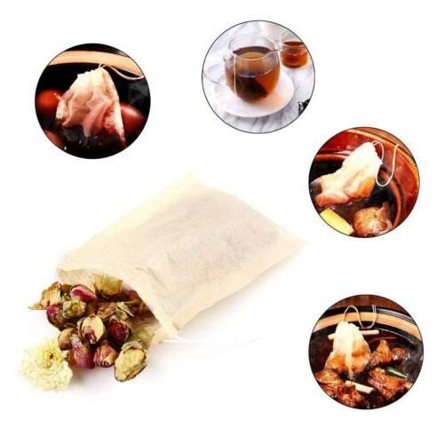 100Pcs Bags Coffee Herb Empty Loose pouch