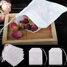 100x non woven empty teabags string heat