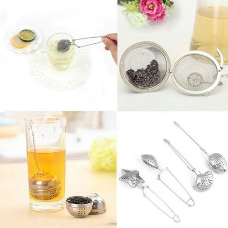 1pc Snap Mesh Loose Herbs Strainer Secure