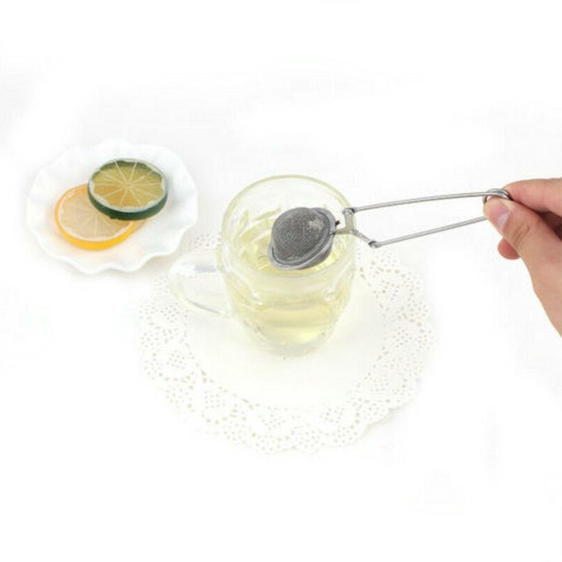 1pc Snap Herbs Strainer Reusable Secure