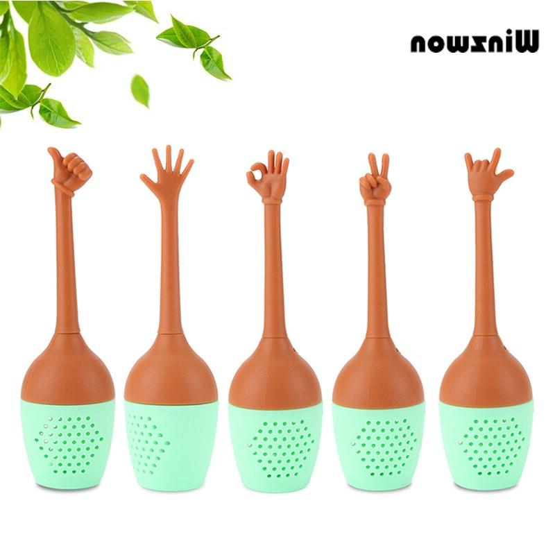 1pcs funny hand gesture silicone font b