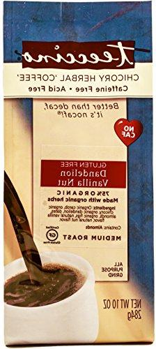 Teeccino Dandelion Chicory Herbal Coffee Alternative, Gluten