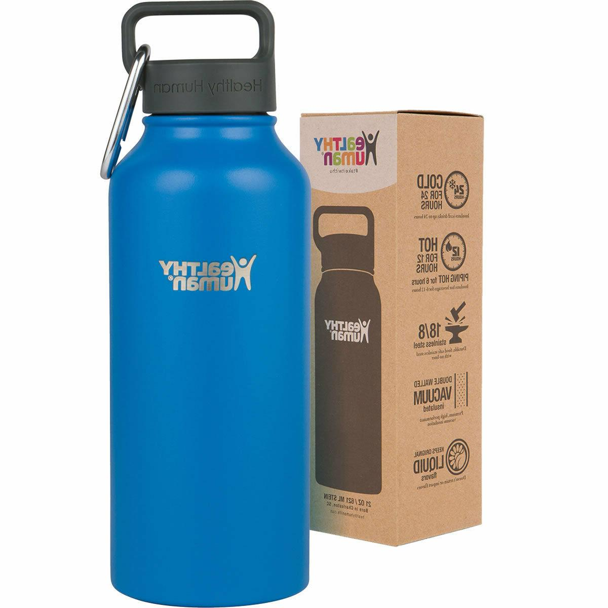 Healthy Human 32 oz Bahama Insulated Stainless Steel Water B