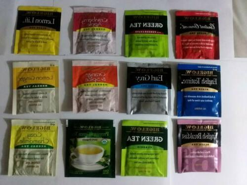 bigelow herbal tea variety assortment of 60