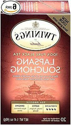 Twinings Black Tea Lapsang Souchong 20 Count Bagged Tea
