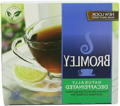 decaffeinated tea bags 100 count units pack