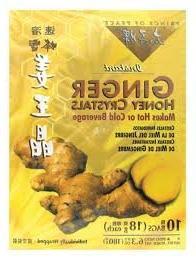 Best Ginger Tea with Honey Crystal 10 bags