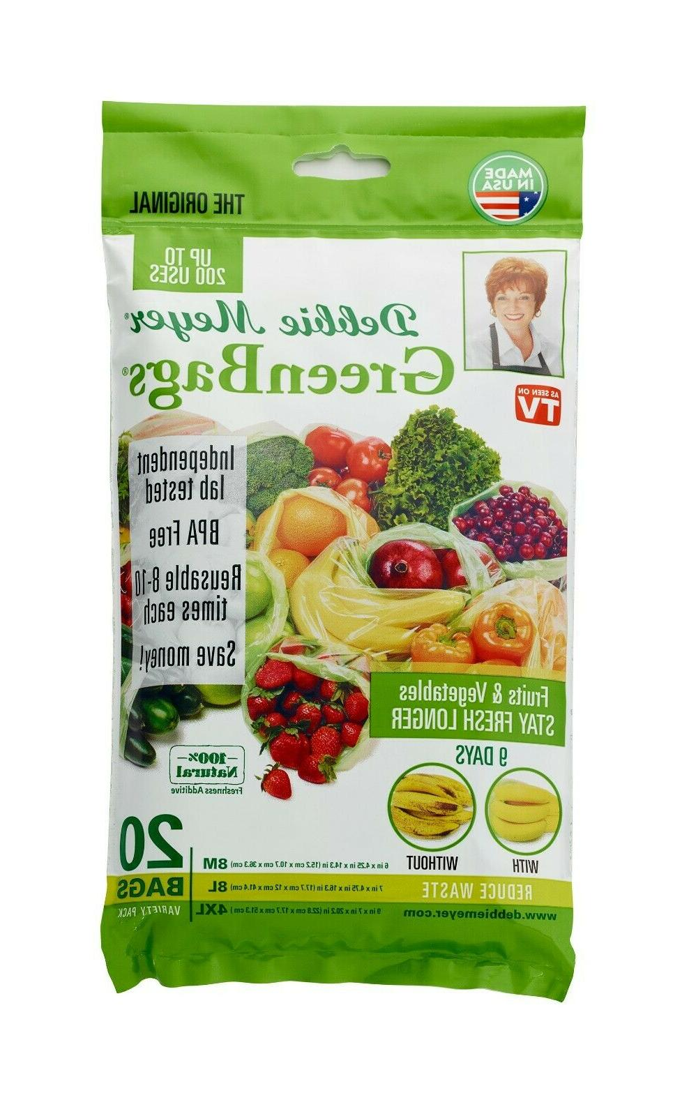 green bags variety pack of 20 m