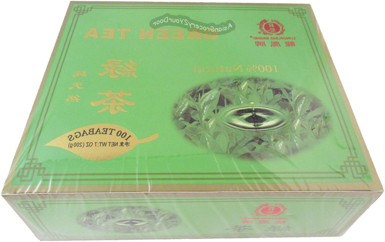 green tea caravelle 100 teabags