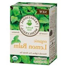 Herb Tea, 95% organic, Lemon Balm , 16 bag