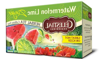 herbal tea watermelon lime zinger 20 bags