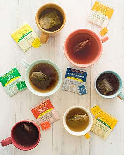 Bigelow Herbal Tea Pack 118 Caffeine-Free Individual for Hot Iced Drink Plain or Sweetened or
