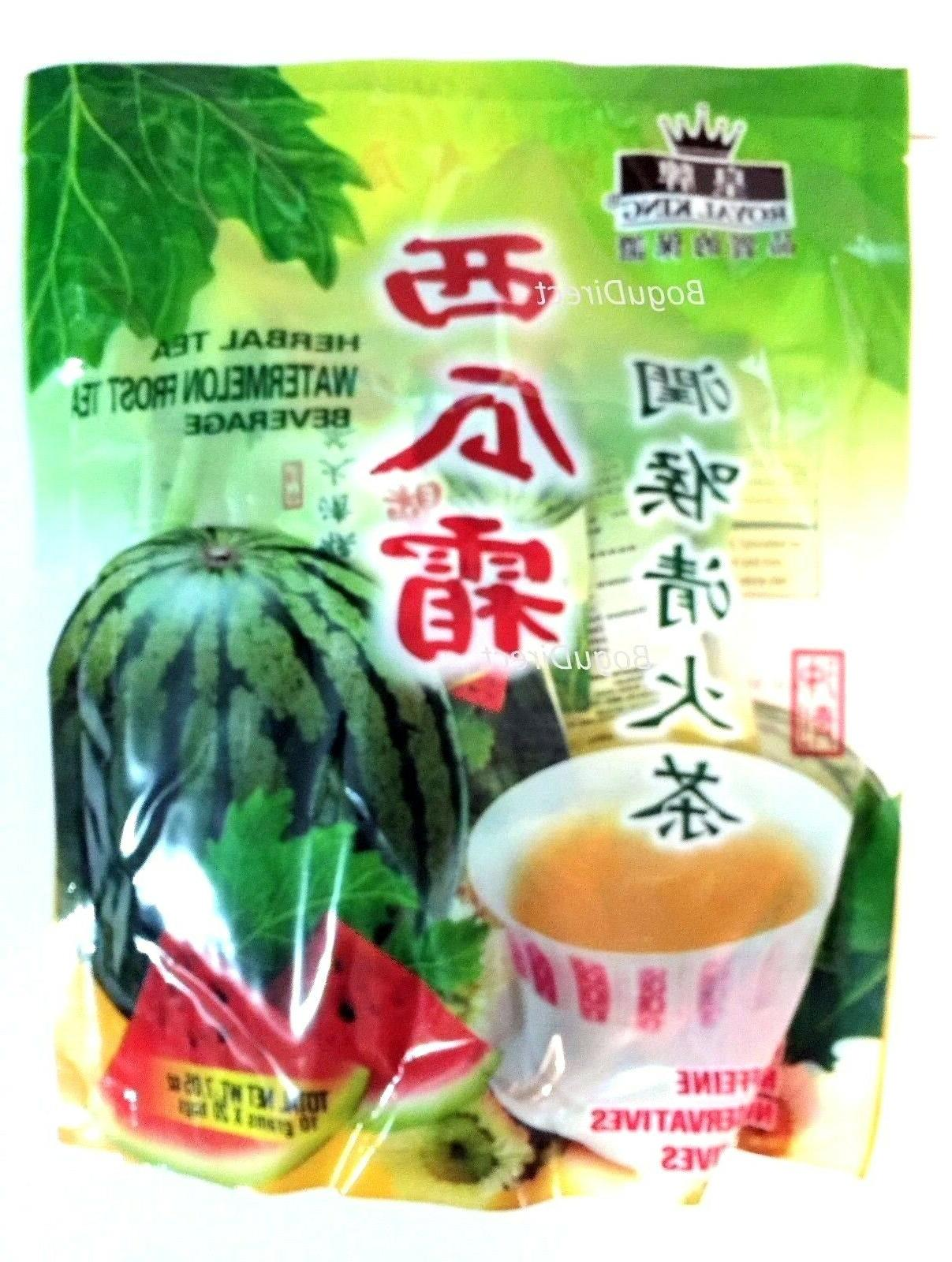 Royal King Herbal Watermelon Frost Tea - Bag of 20 pack @ 7.