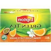 Lipton Green Tea Orange Passionfruit & Jasmine Tea Bags, 20c