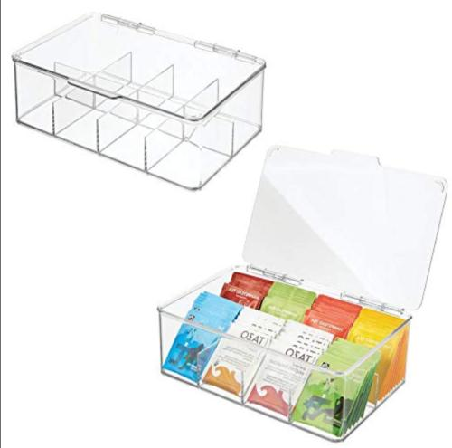 mdesign kitchen cabinet tea bag