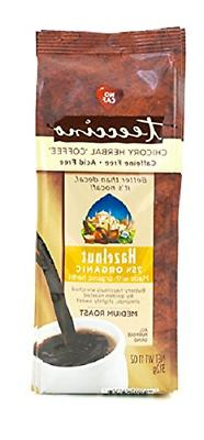 Teeccino Mediterranean Herbal Coffee Hazelnut 11 oz Pkg