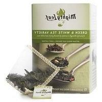 Mightly Leaf Tea Green White Variety Tea 15 Bag  - Pack Of 6