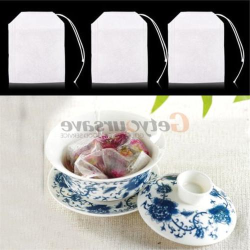 Multiple size non-woven Teabags Heat Herb Bag Paper