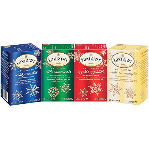 Twinings of London Holiday Variety Tea Bag Pack, Peppermint