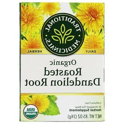 Traditional Medicinals Organic Roasted Dandelion Root Herba