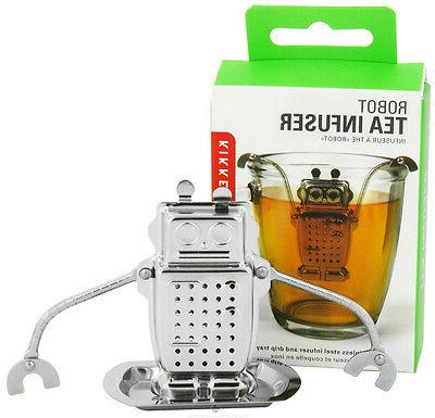 robot tea infuser drip tray