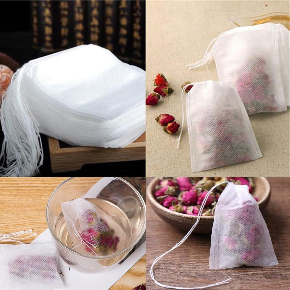 scented tea bags with string heal seal