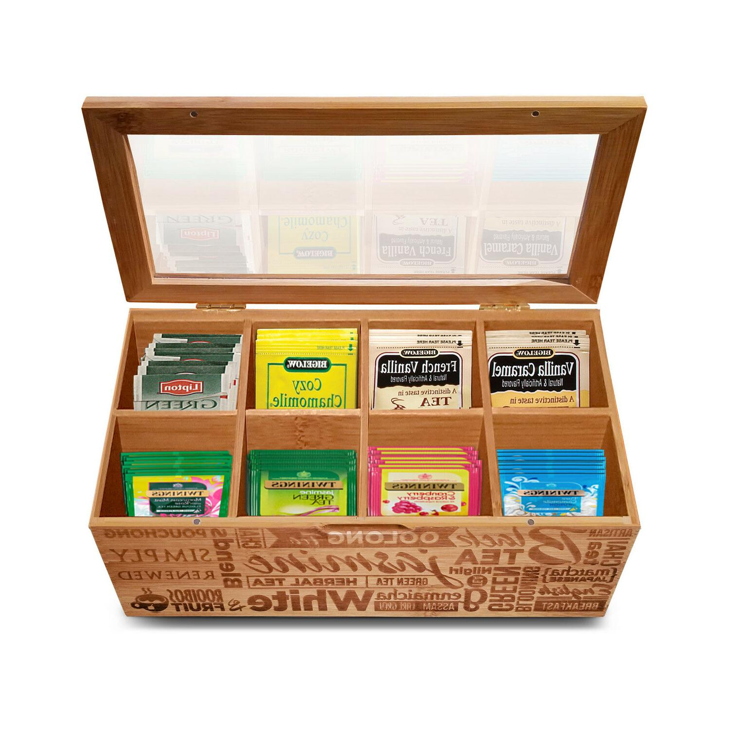 Simply Tea Organizer Bag Storage