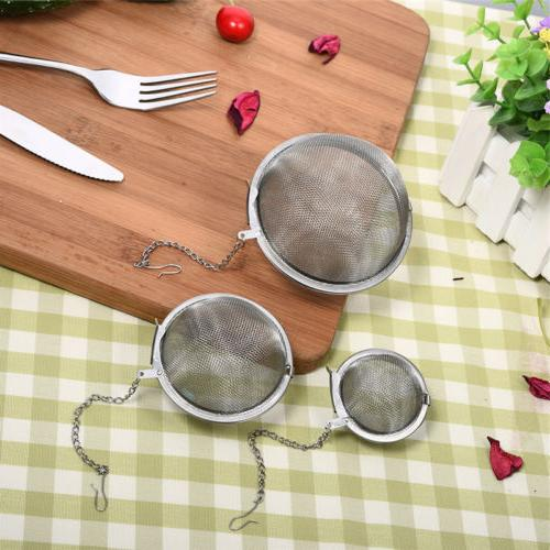 Stainless Steel Infuser Filter Seasoning Balls 3 Size