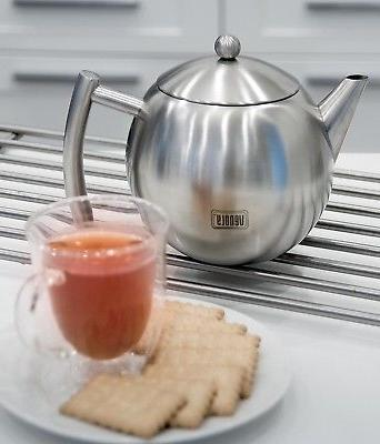 Stainless With Infuser Loose Leaf Tea Bags