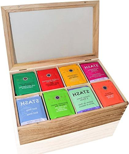 Stash Assortment Box COUNT - Perfect Pack in Gift Box - Family, Friends, English Green, Mint, Peach, and more