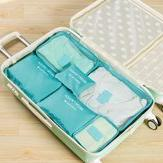 Storehouse Suitcase - 6pcs Oxford Waterproof Travel Storage