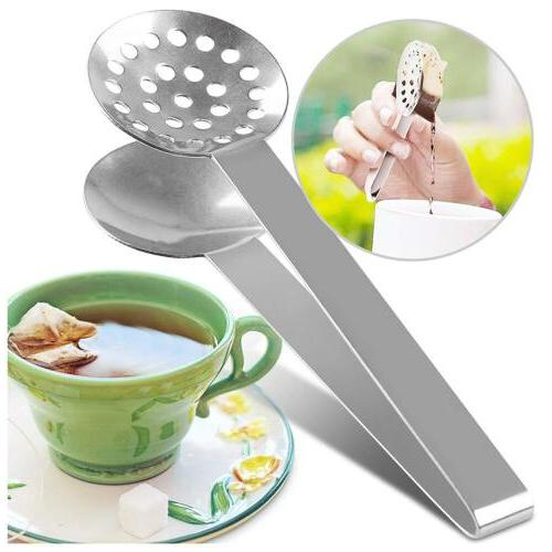 tea bag squeezer round stainless steel teabag