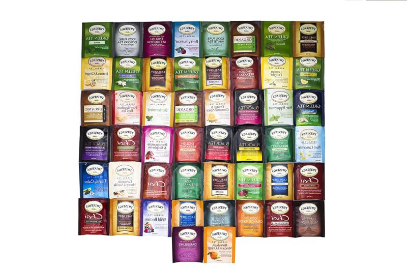 Twinings Tea Assortment 50 Count with Box T