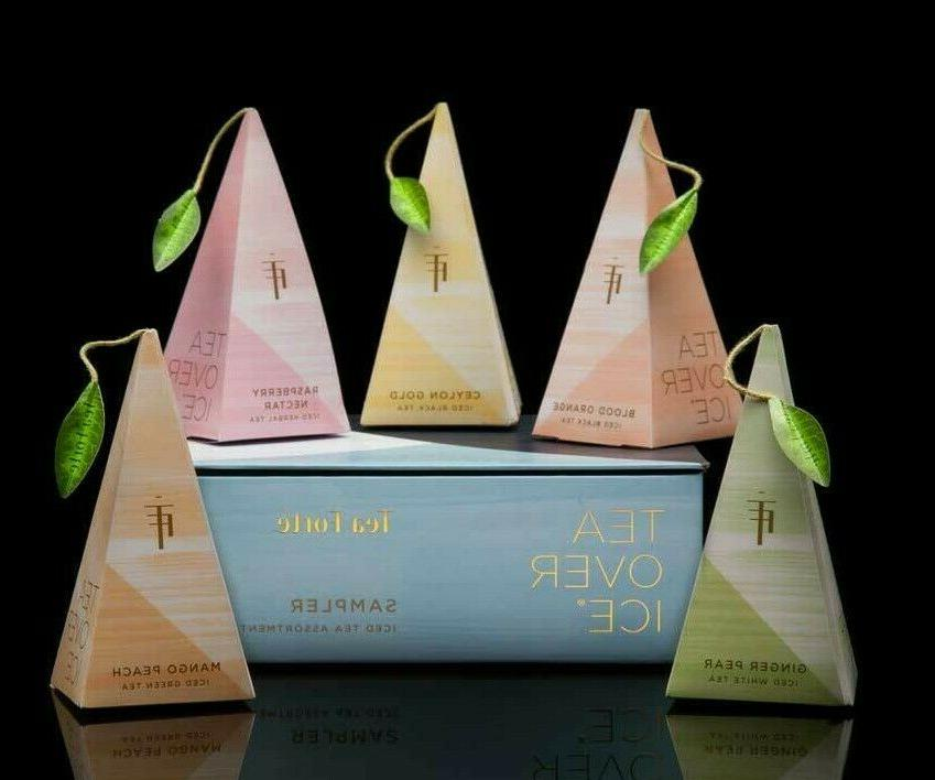 TEA OVER ICE ~ 5 PITCHER SIZED INFUSERS BAGS sampler