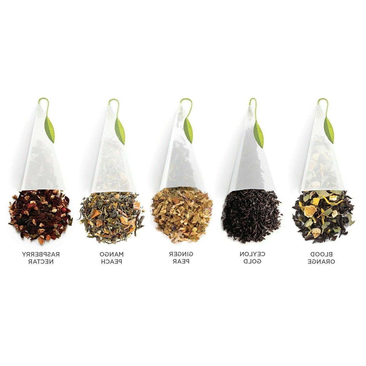 TEA TEA OVER ICE PITCHER SIZED ICED INFUSERS BAGS ~ COLD sampler