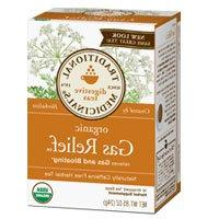 Traditional Medicinals Teas Organic Gas Relief Tea, 16 BAGS
